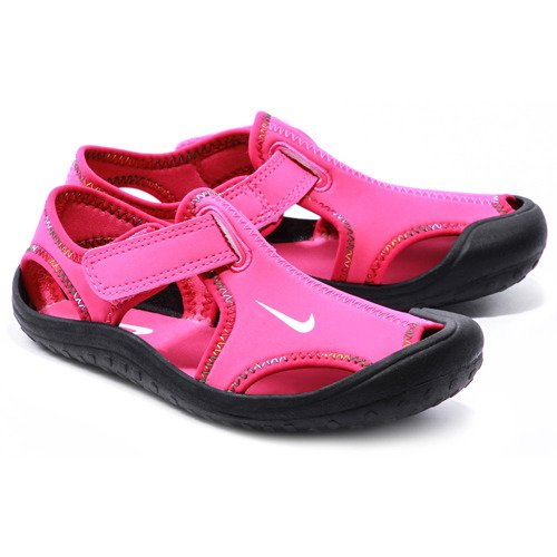 NIKE Sunray Protect - Różowe Neoprenowe Sandały Dziecięce ...