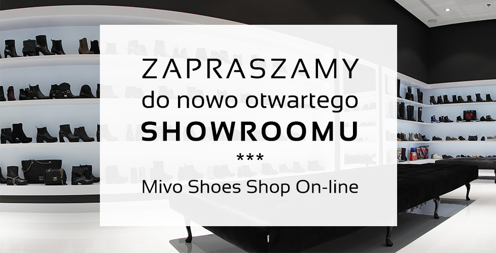 Showroom Mivo Shoes Shop On-line