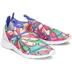 Adidas ZX Flux Smooth Slip On - Sportowe Damskie - S75686
