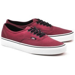 Authentic - Bordowe Canvasowe Trampki Unisex - VQER5U8